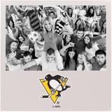 """Pittsburgh Penguins 4"""" x 6"""" Aluminum Picture Frame"""