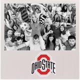 """""""Ohio State Buckeyes 4"""""""" x 6"""""""" Aluminum Picture Frame"""""""