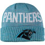 Toddler New Era Heathered Blue Carolina Panthers Crisp Colored Cuffed Knit Hat