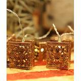 Festival Depot String Lights Warm - Pierce Flower LED String Light
