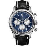 Breitling Navitimer 8 B01 Chronograph 43 Blue Dial Men's Watch (Ref # AB0117131C1P1)