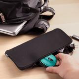 UT Wire Laptop 2-In-1 Mouse Pad & Charger Zipper Pouch Pocket in Black, Size 0.7 H x 5.3 W x 11.0 D in | Wayfair UTW-PKL4-BK