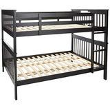 Coaster Home Furnishings Bunk Bed, Black