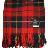 "I LUV LTD Scottish Tartan Warm Wool Mix Throw Blanket Wallace Modern Plaid Couch Blanket Bed Throw Blankets Wool Rug Outdoor Blankets and Throws 60"" x 72"""