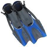 U.S. Divers Hinge Flex II Fins Flippers Small/Medium Men 4-8.5 Womens 5-9.5