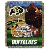 "Colorado Buffaloes ""Home Field Advantage"" Woven Tapestry Throw Blanket, 48"" x 60"""
