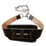 TDS Leather Dip Belt with Chain