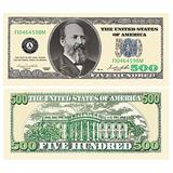 Set of 100-Casino/Poker Five Hundred Dollar Bills