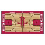 FANMATS NBA Houston Rockets Nylon Face NBA Court Runner-Large