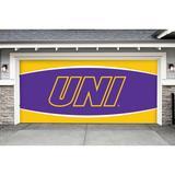 Northern Iowa Panthers 7' x 16' Double Garage Door Decor
