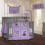 Harriet Bee Sisler Jungle Animal 9 Piece Crib Bedding Set Cotton in Brown/Indigo, Size 9.0 W in   Wayfair B9AEE5CB5B44425CB70EE11C78C70A1B