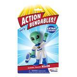 NJ Croce Co. Action Figures - Action Bendables Alien Figure