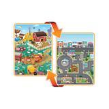 Prince Lionheart Playmats - City & Farm Reversible playMAT