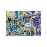 Cobble Hill Puzzles - Blue Collage 1,000-Piece Puzzle