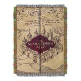 The Northwest Company Throws multi - Harry Potter Marauder's Map Throw