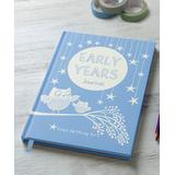 from you to me Keepsake Memory Books N/A - Blue 'Early Years' Memory Book