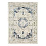 nuLOOM Indoor Rugs Blue - Blue & White Verona Rug
