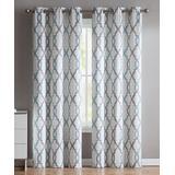 VCNY Home Decorative Curtains aqua - Aqua Caldwell Curtain Panel - Set of Two