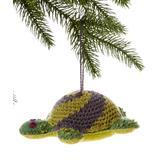 The Silk Road Bazaar Ornaments - Turtle Handmade Wool Ornament