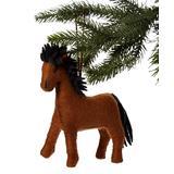 The Silk Road Bazaar Ornaments - Horse Wool Ornament