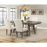 Dex 5PC Dining Set-Table, 4 Upholstered Side Chairs - Picket House Furnishings DJX100S5PC