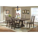 Flynn 7PC Dining Set-Table & 6 Wooden Side Chairs - Picket House Furnishings DFN100S7PC