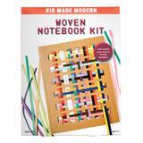Kid Made Modern Craft Kits - Woven Notebook Craft Kit