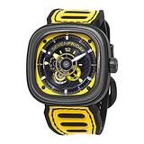 Sevenfriday P3B Racing Team Automatic Yellow Dial Men's Watch P3B/03 Racing Team Yellow