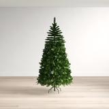 Wayfair Basics® Fir Artificial Christmas Tree in Green, Size 90.0 H x 50.0 W in 03E4B093BAE044289F62CCFCC0861B31