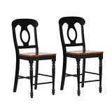Sunset Trading Black Cherry Selections Barstool, Antique