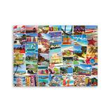 Eurographics Puzzles - Globe-Trotter Beaches 1,000-Piece Puzzle