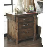 Signature Design by Ashley Furniture Nightstands Brown - Brown Lakeleigh Nightstand