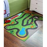 Personal Creations Playmats - Race Track Personalized Playmat