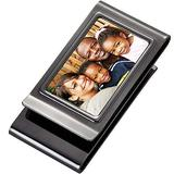 Personalized Double Sided Gunmetal Photo Picture Money Clip Custom Engraved Free - Ships from USA