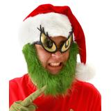 elope Masks and Headgear - Grinch Costume Bearded Hat