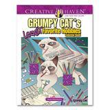 Dover Publications Coloring Books - Grumpy Cat's Least Favorite Hobbies Coloring Book