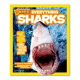 National Geographic Educational Books - Everything Sharks Paperback