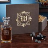 Astoria Grand Baumann Engraved 20 oz. Whiskey Decanter Glass, Size 12.0 H x 13.0 W in | Wayfair C4FE7A8077214F549E8340A194967D85