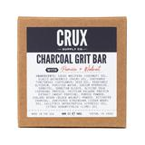 CRUX Supply Co. Men's Skin Cleansers - Charcoal Grit Bar