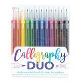 ooly Markers - Calligraphy Duo 12-Ct. Double-Ended Markers Set