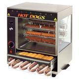 Star 175CBA Hot Dog Broiler w/ 36 Franks & 32 Buns Capacity, 120v