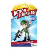 NJ Croce Co. Action Figures - Action Bendalbes Soldier
