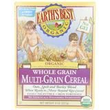 Earth's Best Organic, Whole Grain Multi-Grain Cereal, 8 Ounce (Pack of 12) - Packaging may vary