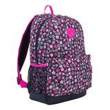 Eastsport Backpacks FW2 - Black & Pink Floral Lightweight Daypack