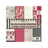 Canvas Corp Art Paper - Holiday Baking 16-Sheet Paper Collection
