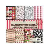 Canvas Corp Art Paper - Jolly Christmas 16-Sheet Paper Collection