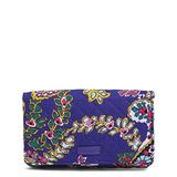 Vera Bradley Women's Signature Cotton All Together Crossbody Purse with RFID Protection, Romantic Paisley