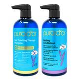 Pura D'or Argan Oil Conditioner - Hair Thinning Therapy Vanilla Lavender Regimen