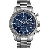 Breitling Navitimer 8 Chronograph 43 Blue Dial Chronograph Steel Watch - REF: A13314101C1A1