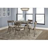 Hillsdale Furniture Hillsdale Mayson 5 Piece Dining Set, Gray